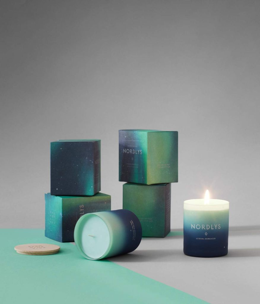 Nothern Lights candle