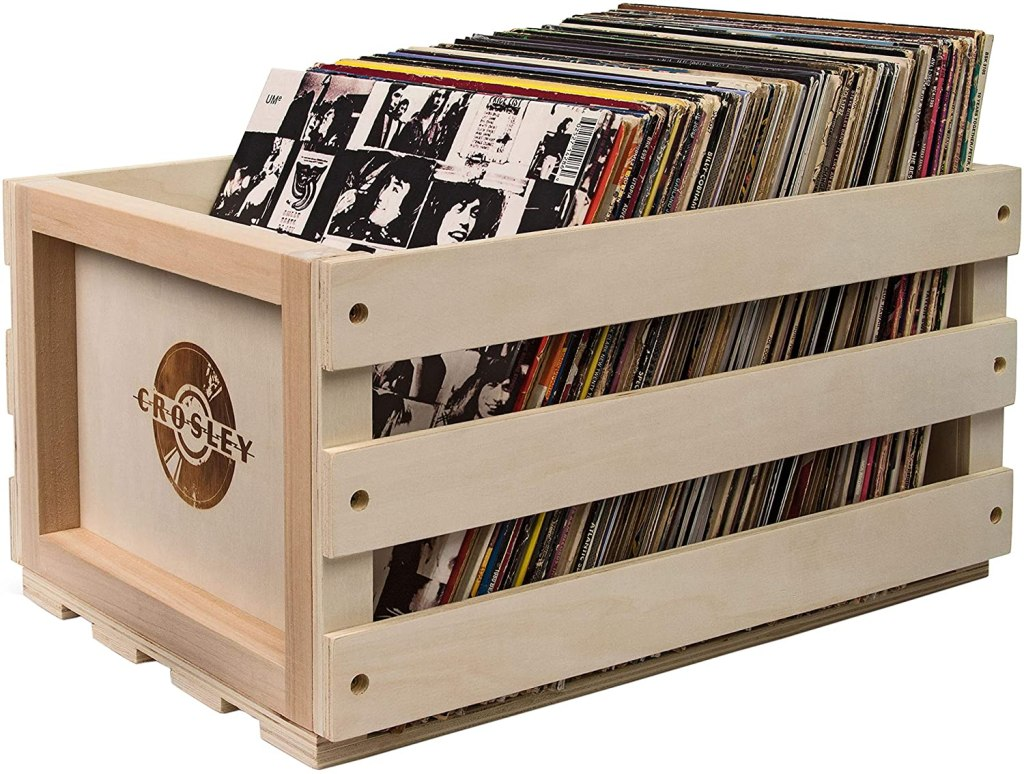 crosley record storage