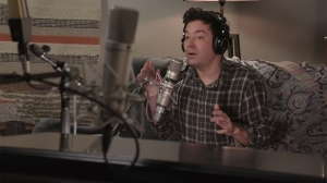 Jimmy Fallon Spoofs Taylor Swift's 'Folklore' Doc With the Roots, Chris Martin
