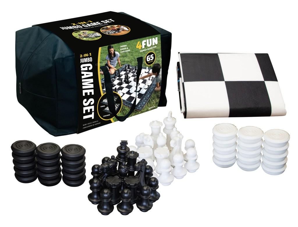 4Fun Jumbo Chess Set