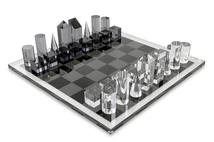 Tizo Design Lucite Chess Set