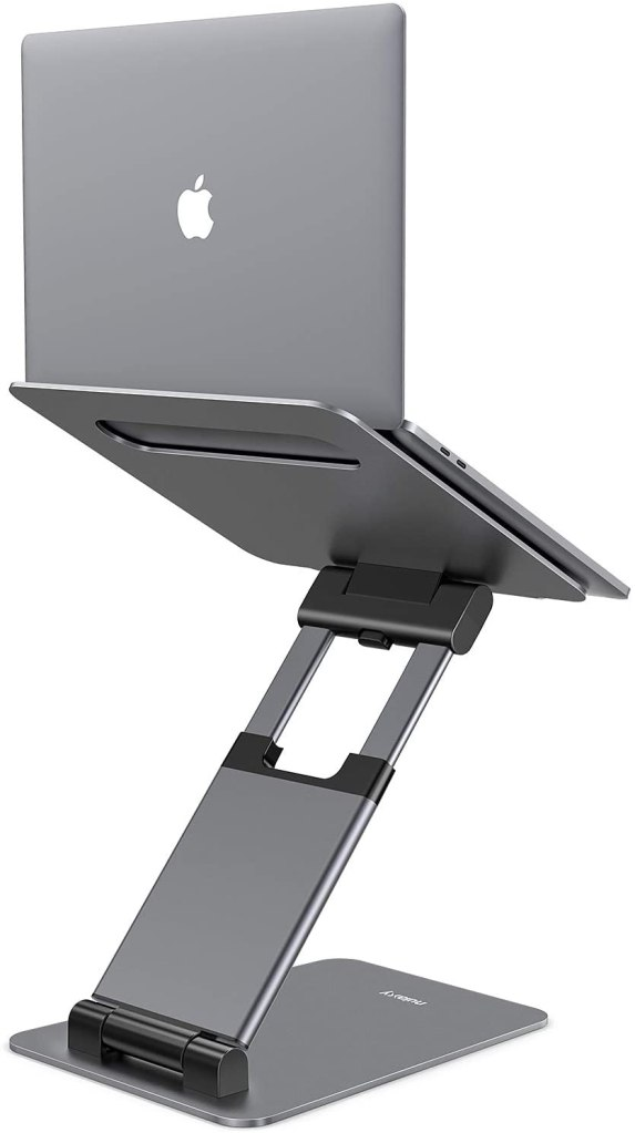 nulaxy sit to stand laptop stand