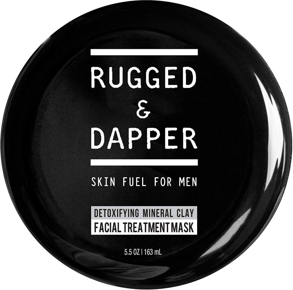 rugged and dapper detox clay mask