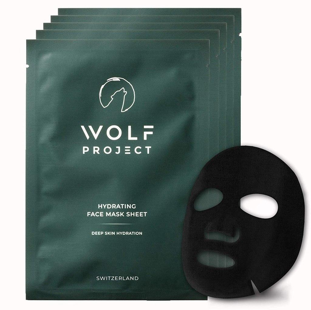 wolf project charcoal sheet masks