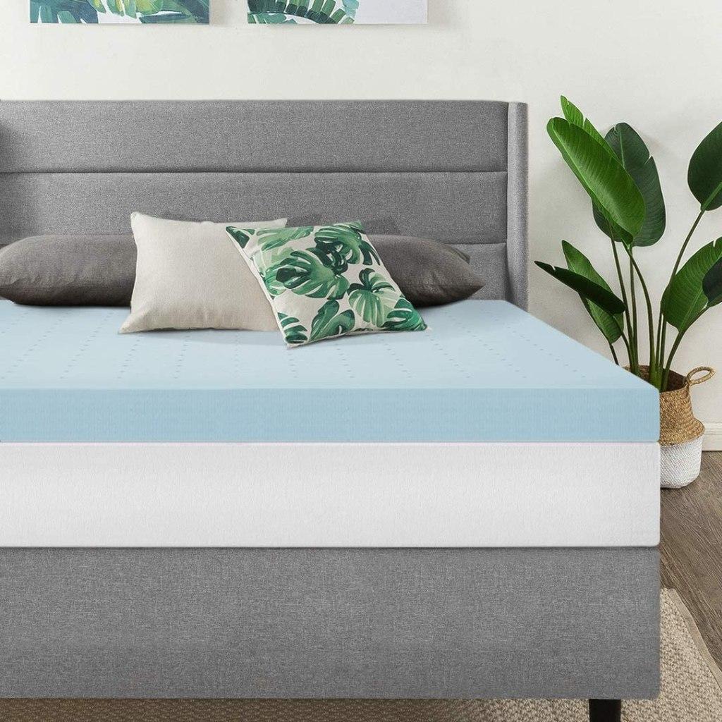 4 inch ventilated foam mattress topper
