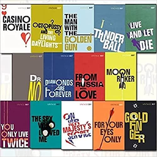 james bond books set