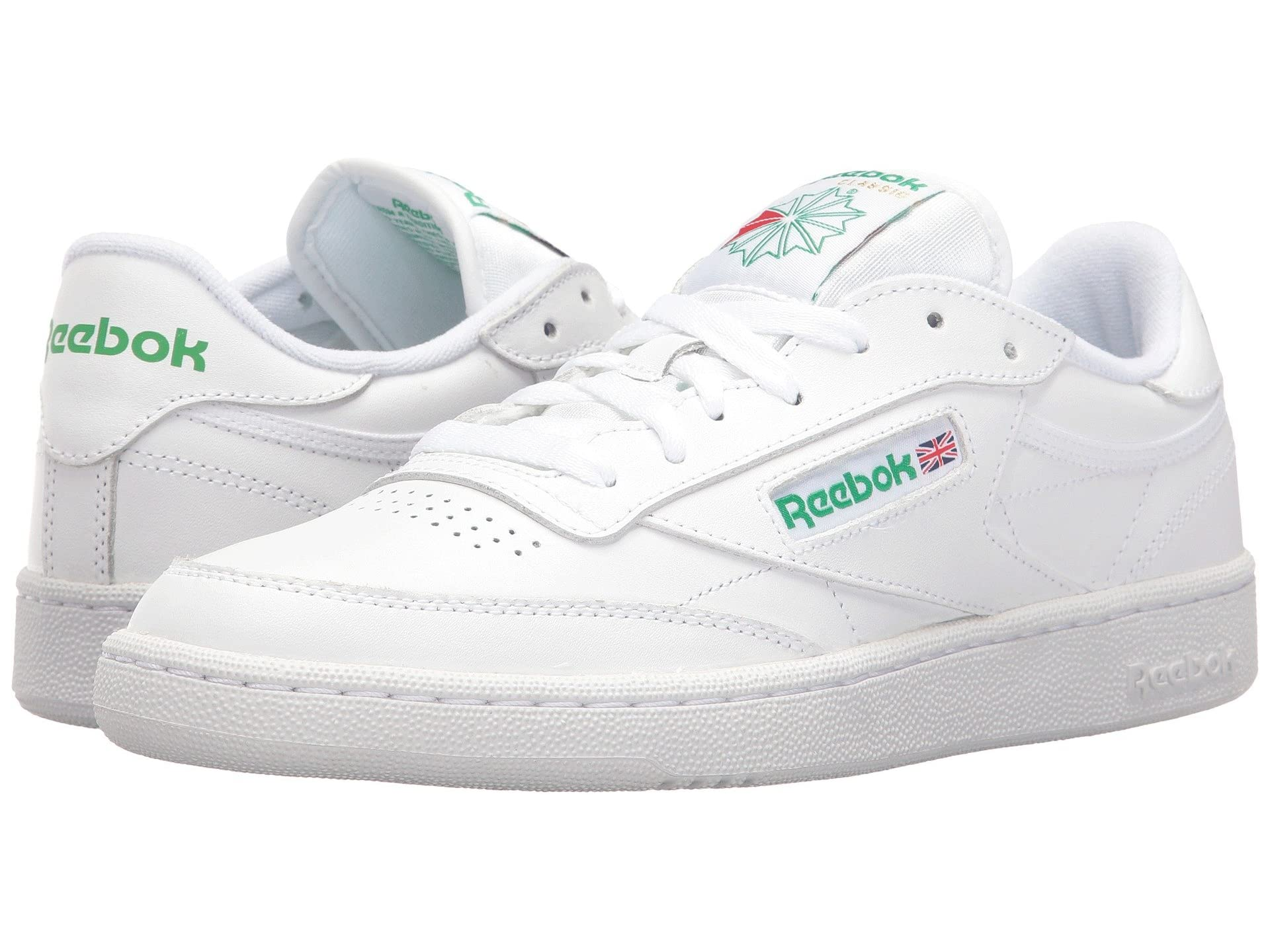 white sneakers reebok