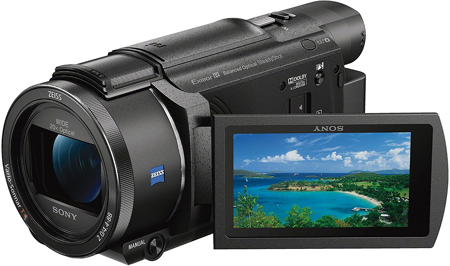 professional camcorder sony 4k