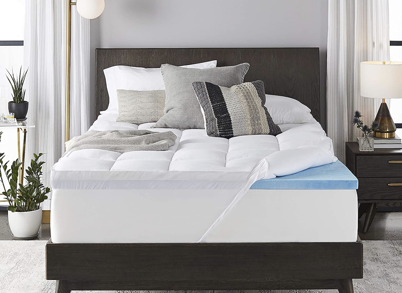 Best Foam Mattress Toppers For Every Bed Top Picks For Better Sleep Rolling Stone