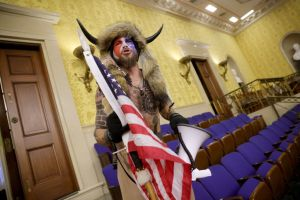 Here's Who's Been Arrested From the Capitol Riot: 'QAnon Shaman,' Man With Lectern, 'Camp Auschwitz' Man