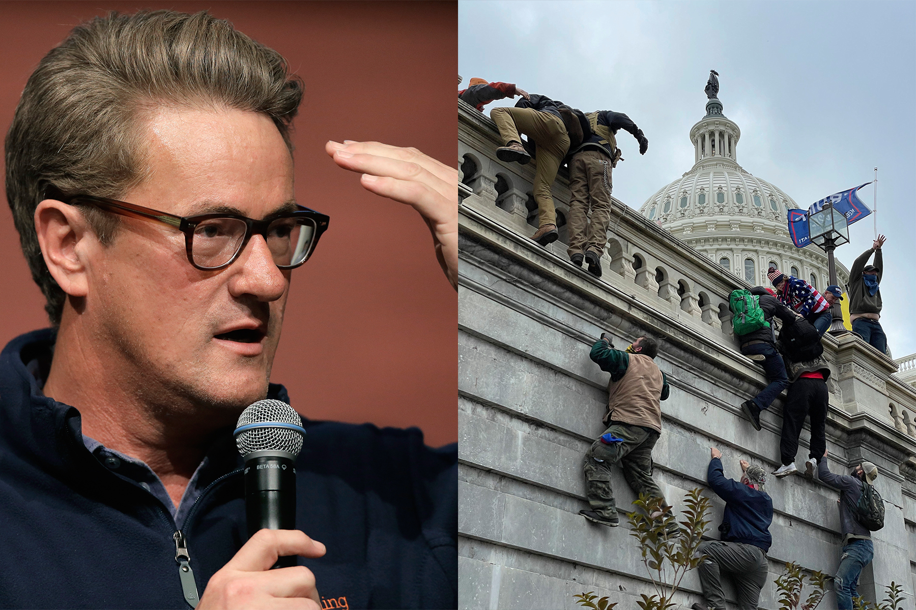 Joe Scarborough Drops F-Bomb on MSNBC, Calls for Arrest of Donald Trump After Capitol Raid