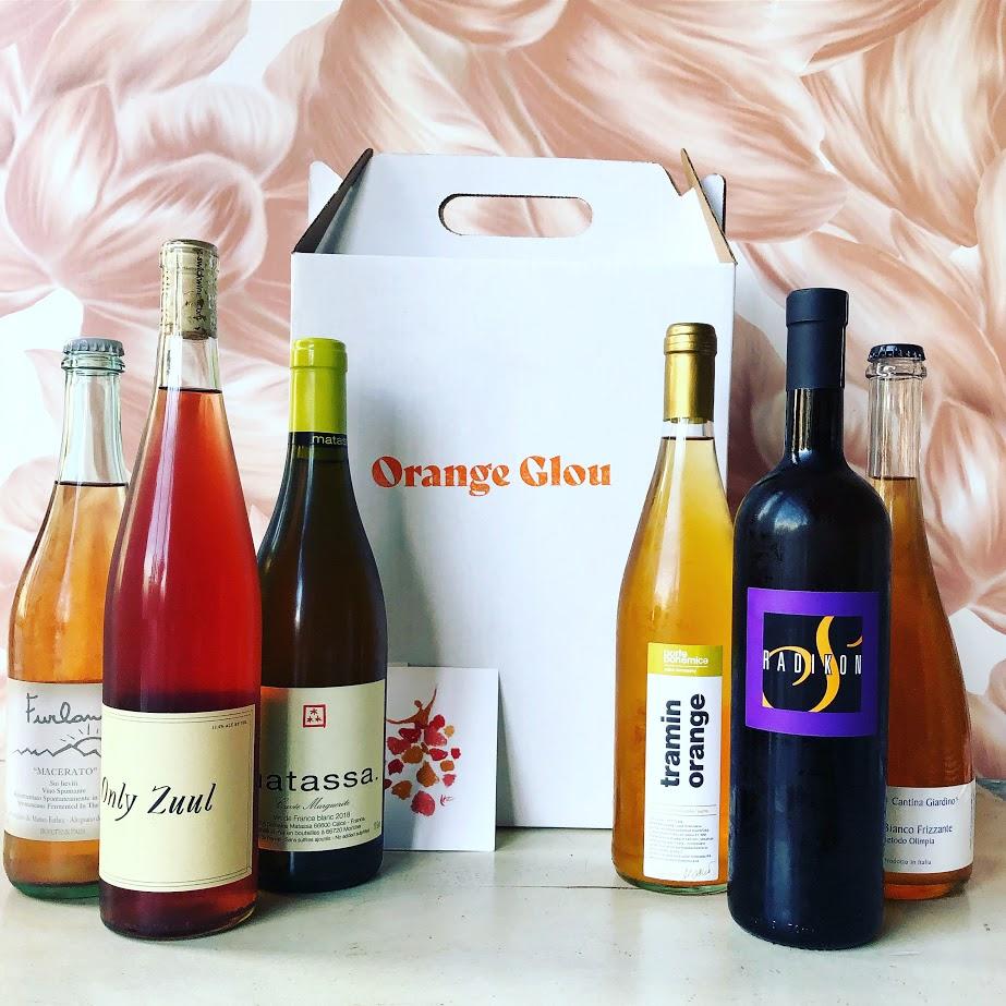 Orange Glou wine club