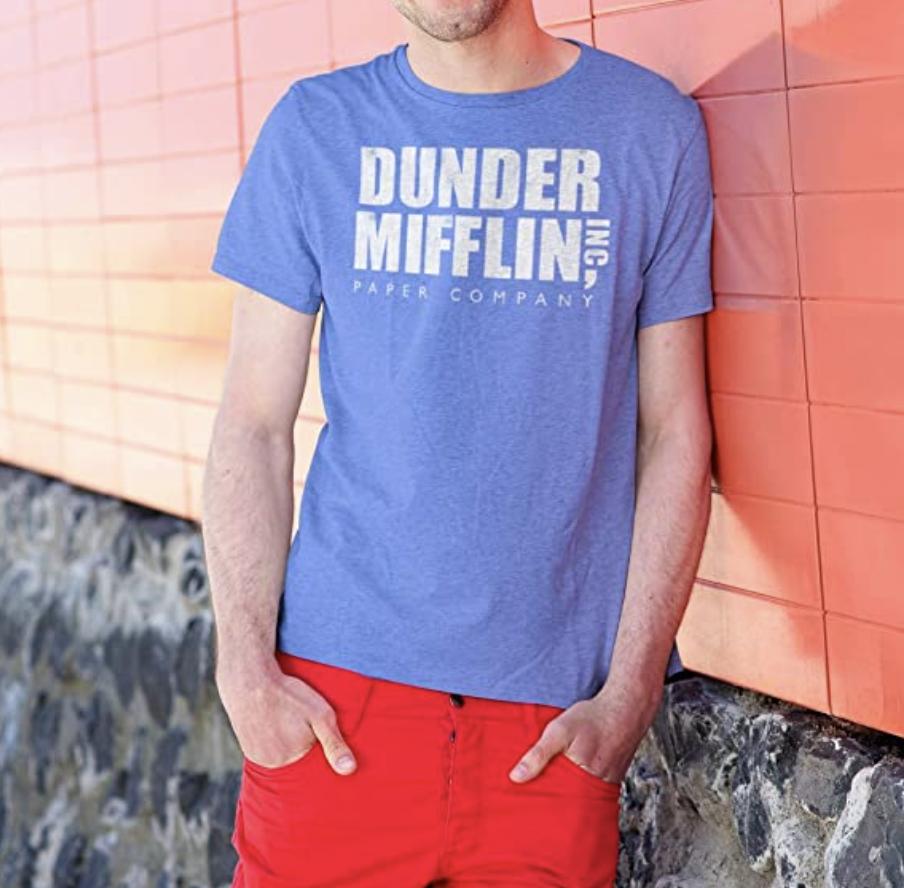 dunder mifflin t shirt the office