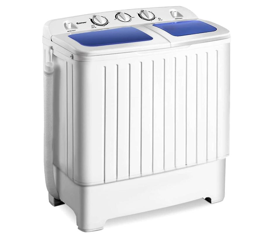 Giantex Portable Mini Compact Twin Tub Washing Machine