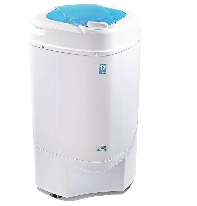 The Laundry Alternative - Ninja Portable Mini 3200 RPM Centrifugal Spin Clothes Dryer