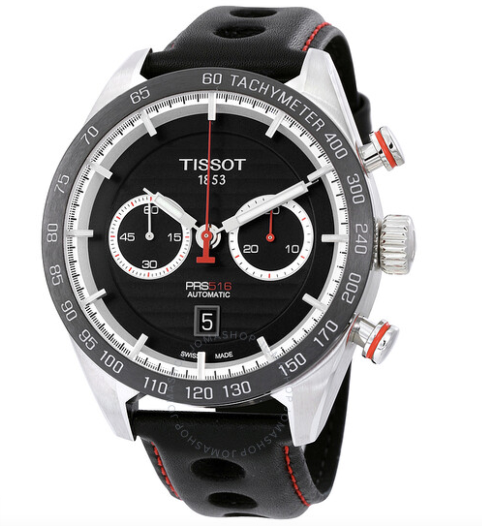 chronograph watch tissot prs