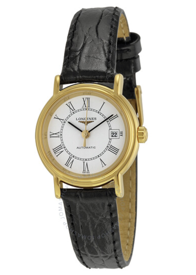 gold dress watch ladies longines