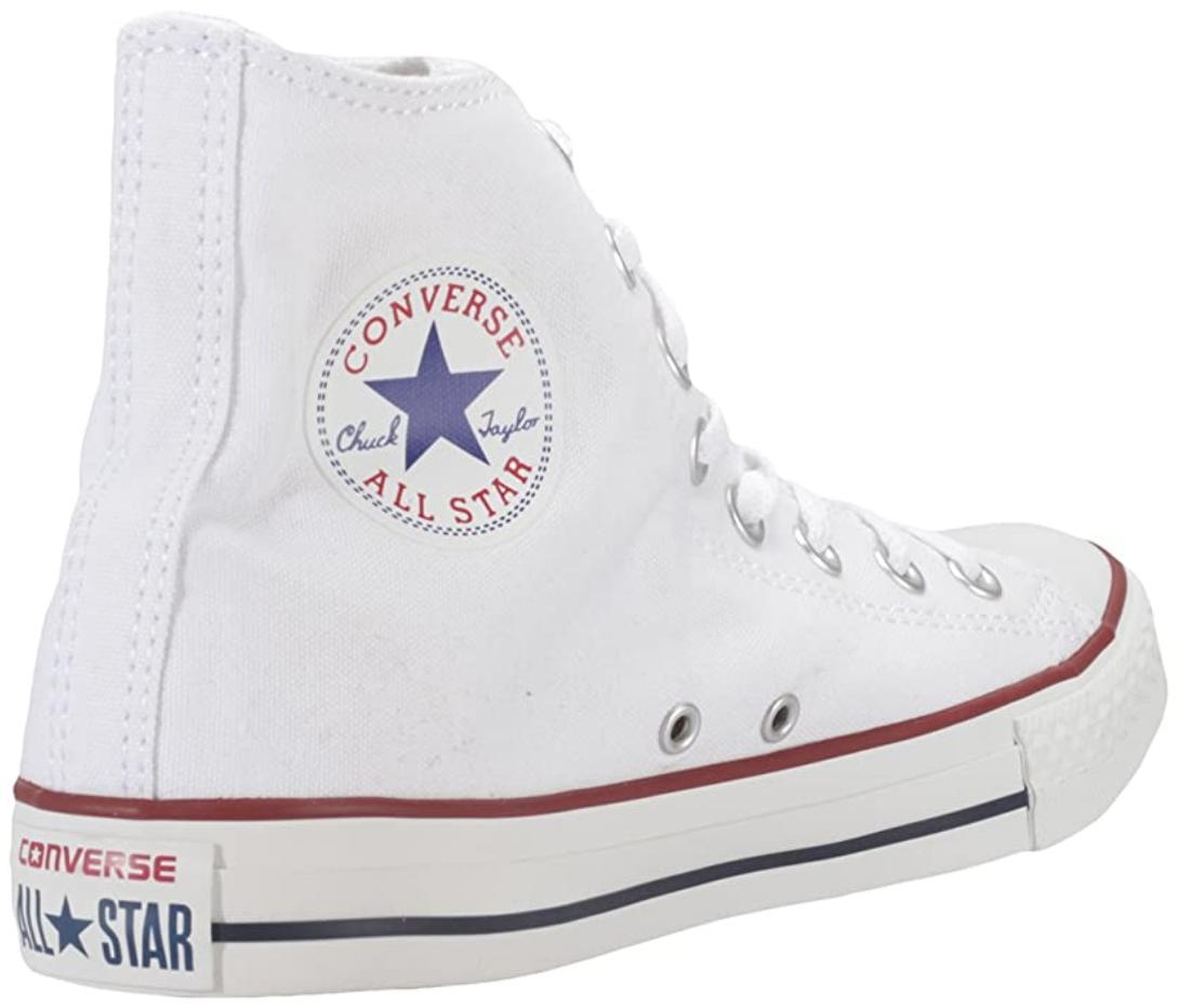 white converse high