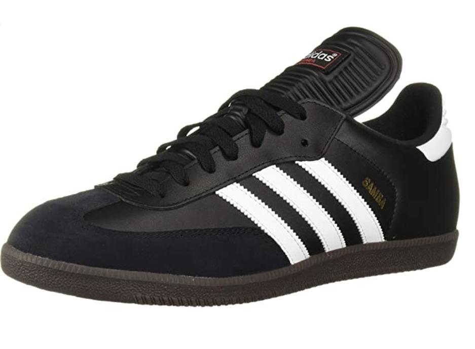 black adidas sambas