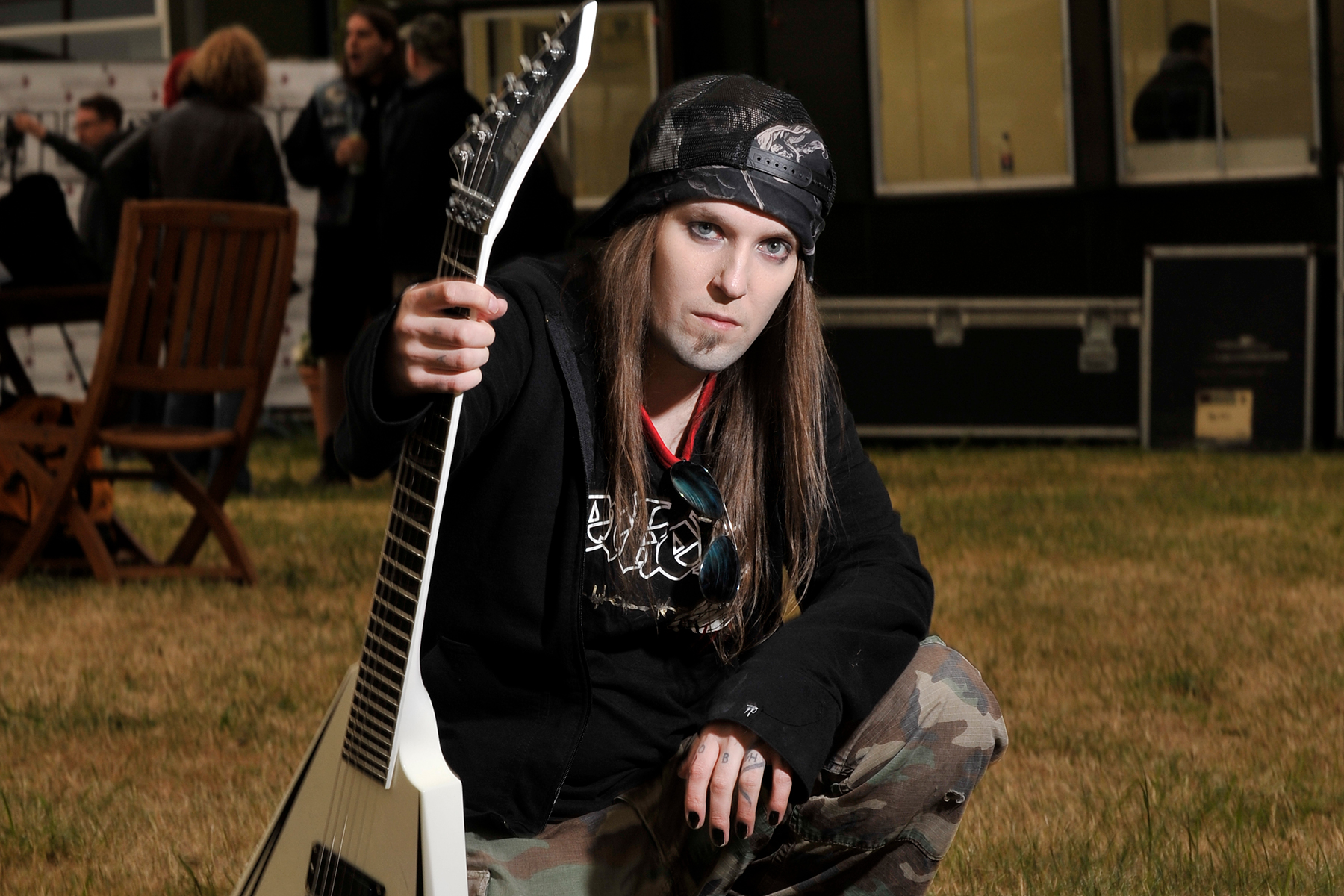 Alexi Laiho, Frontman for Finnis
