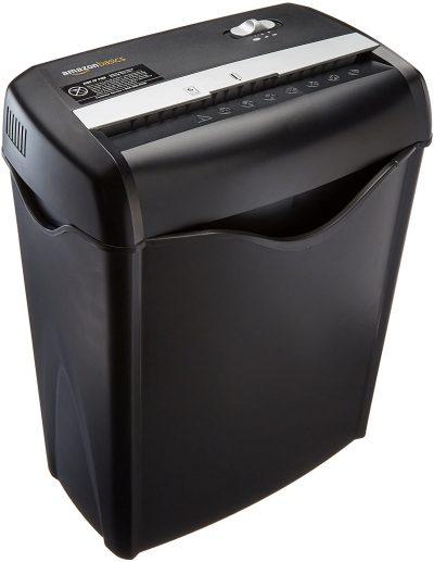 amazon basics 6 sheet shredder