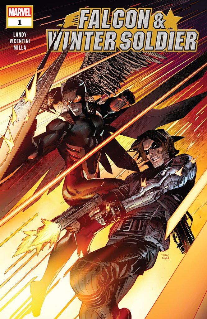 Falcon & Winter Soldier Marvel Comic