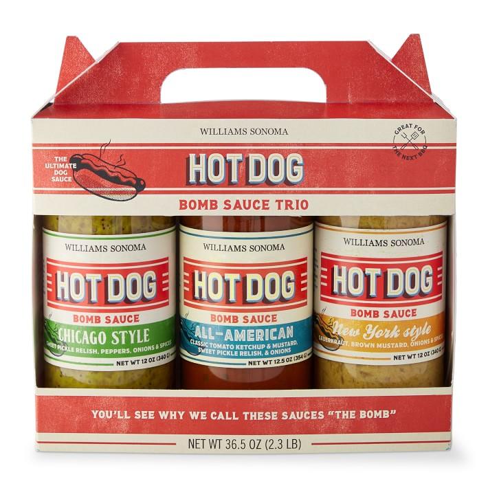 Williams Sonoma hot dog set