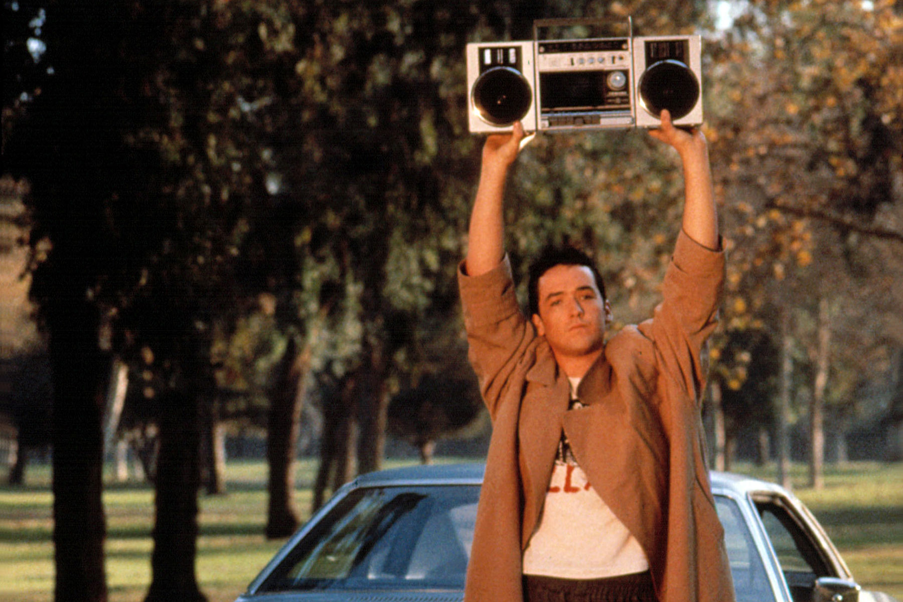 SAY ANYTHING, John Cusack, 1989. TM and Copyright (c) 20th Century Fox Film Corp. All rights reserved.Courtesy: Everett Collection