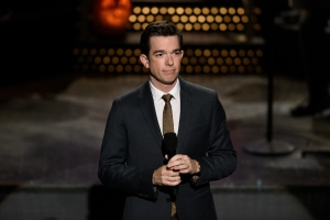 "SATURDAY NIGHT LIVE -- ""John Mulaney"" Episode 1790 -- Pictured: Host John Mulaney during the Monologue on Saturday, October 31, 2020 -- (Photo by: Kyle Dubiel/NBC/NBCU Photo Bank via Getty Images)"