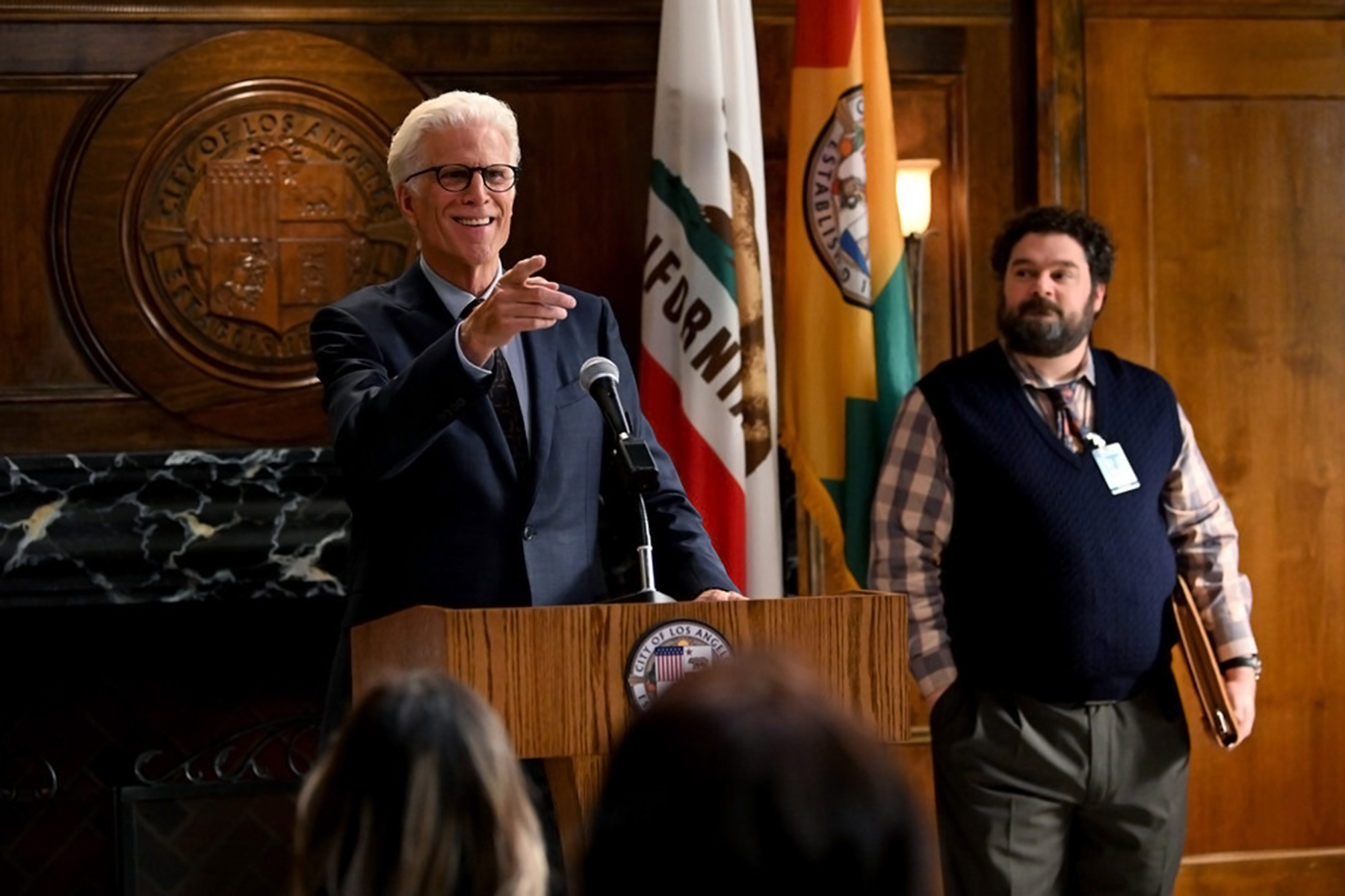 Mr. Mayor' Review: Ted Danson Goes to City Hall - Rolling Stone