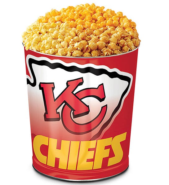 The Popcorn Factory kansas city chiefs