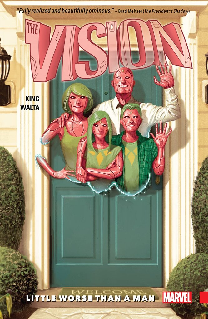 The Vision Marvel Comic