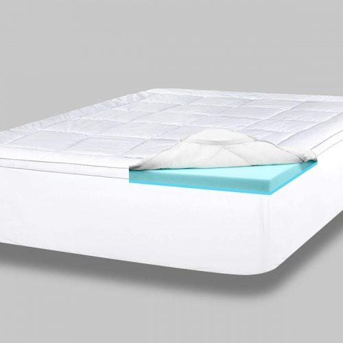 viscosoft foam down alternative mattress topper