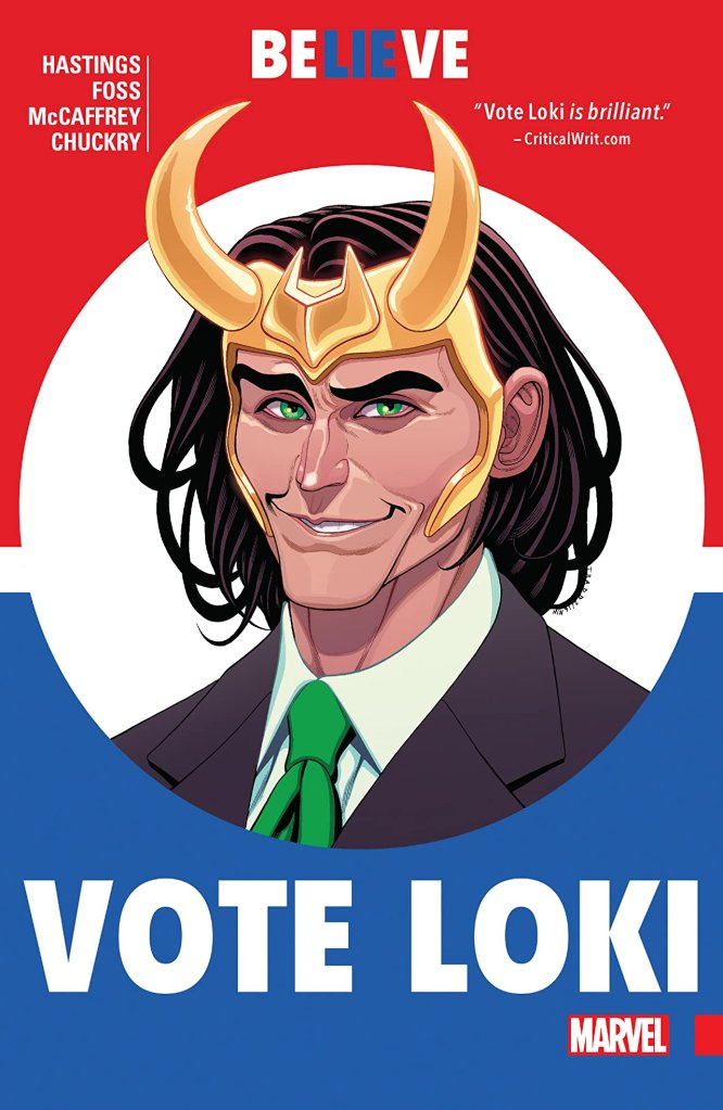 Vote Loki Marvel Comic