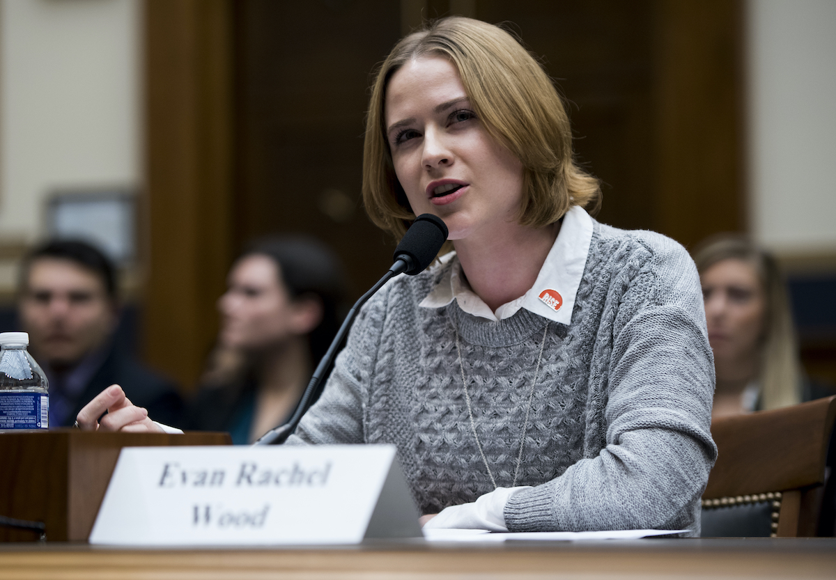Evan Rachel Wood Alleges Former Partner Marilyn Manson Abused Her - Rolling  Stone