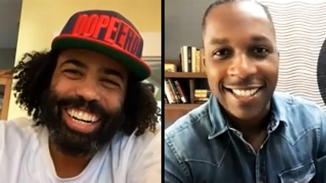 'Spoken Dialogue': 'Hamilton' Actors Daveed Diggs and Leslie Odom Jr..jpg