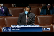 'Have You No Shame?' Rep. Al Green Delivers Impassioned Speech on Equality Act