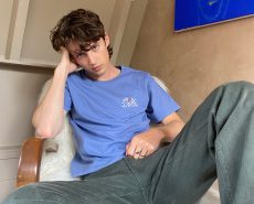 Troye Sivan Unveils UNIQLO T-Shirt Collaboration