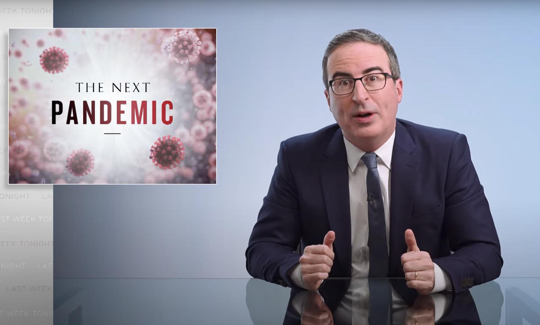 John Oliver Talks Possibility of 'Next' Pandemic on 'Last Week Tonight' - Rolling Stone