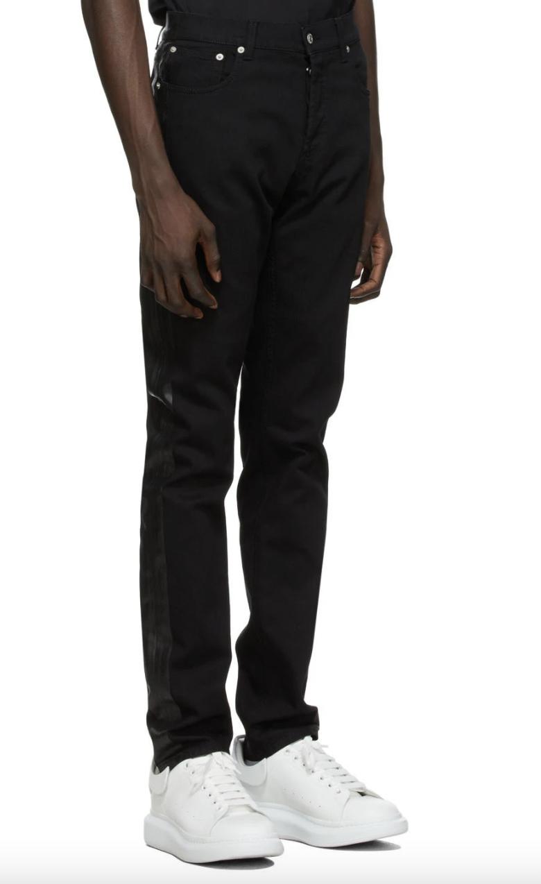 mcqueen black jeans