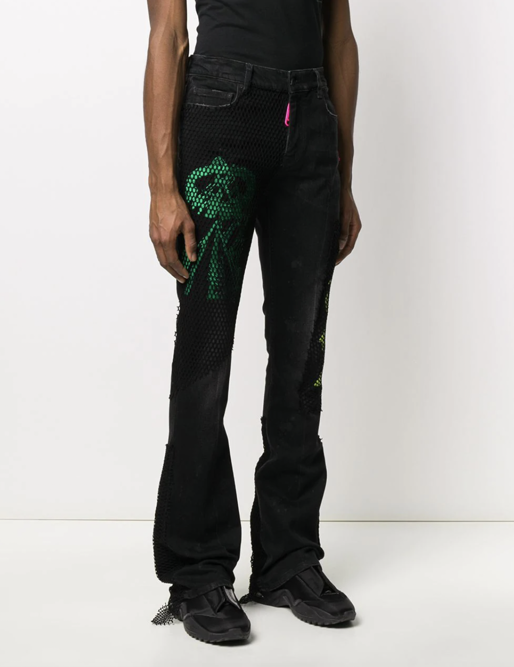 off-white black jeans