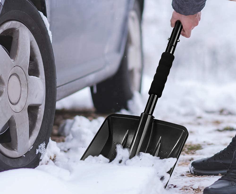 Showviger Detachable Portable Compact Emergency Snow Shovel