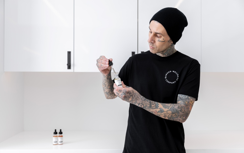 Travis Barker Launches Wellness Brand, Credits CBD With Helping Him Beat Ambien Dependency