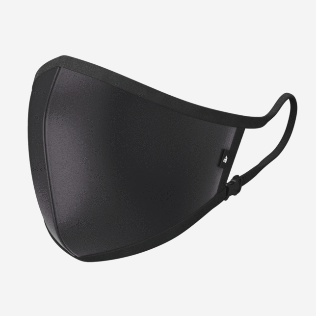 är Small Logo Black Self-Cleaning Face Mask