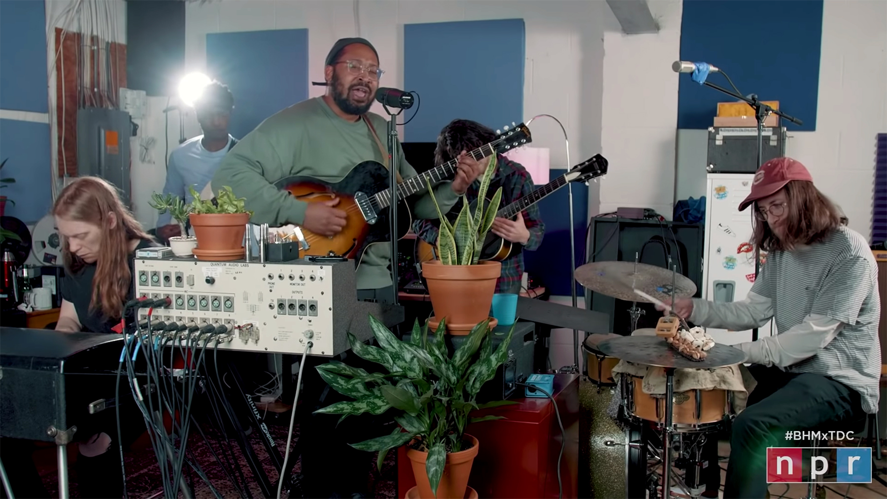 Bartees Strange Performs 'Live Forever' Songs for NPR's 'Tiny Desk'