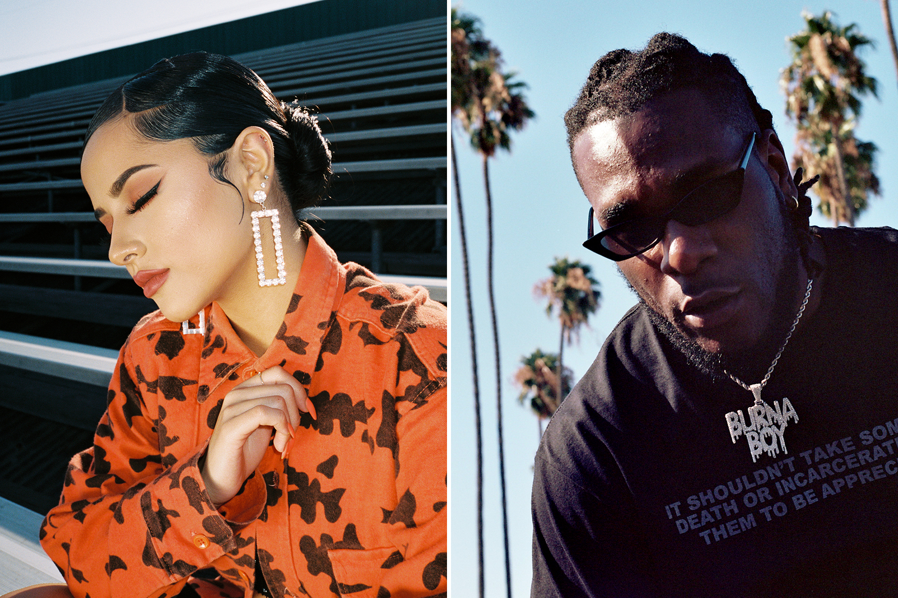 Becky G, Burna Boy Link Up for Swaggering New Single 'Rotate'