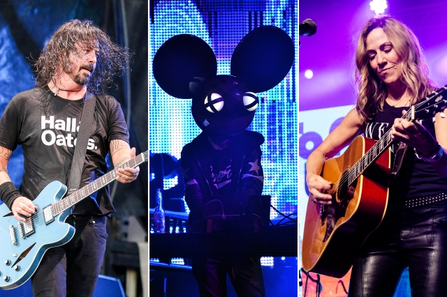 Rock 'N' Relief Live Stream: Foo Fighters, Deadmau5, Sheryl Crow to Lead Benefit.jpg