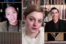 Golden Globes 2021: 'Nomadland,' 'The Crown,' 'Borat' Win Top Prizes