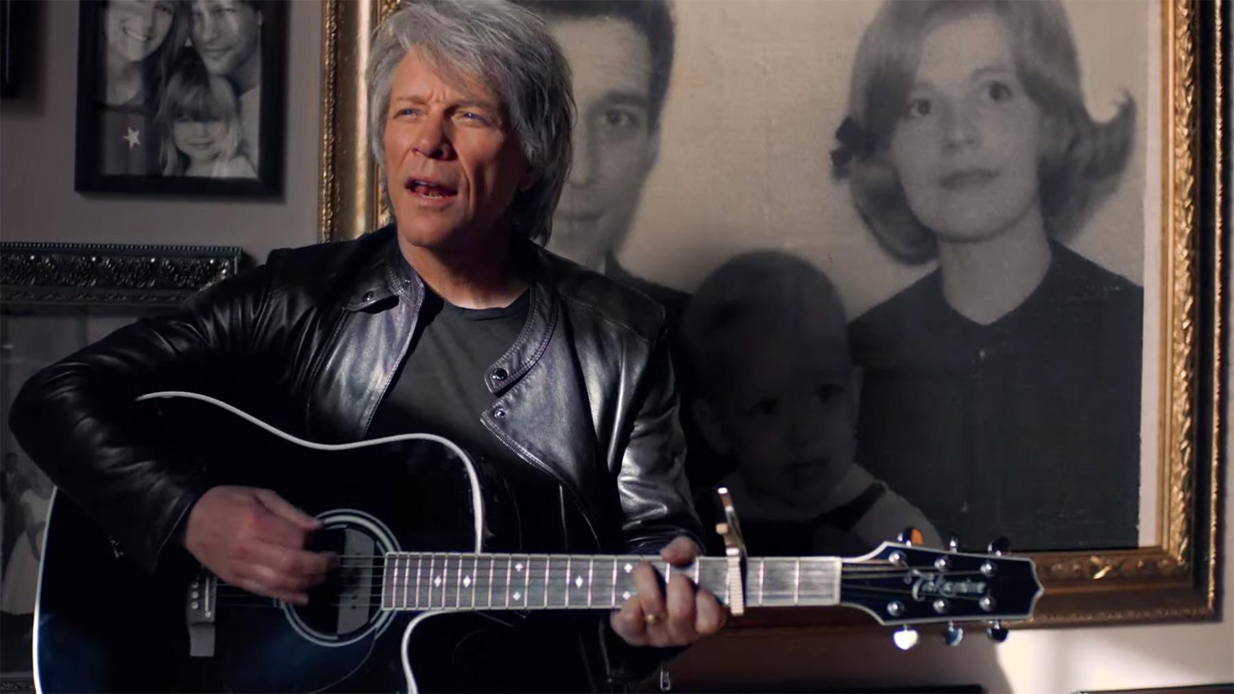 <p>Jon Bon Jovi Honors His Family in'Story of Love' Video thumbnail