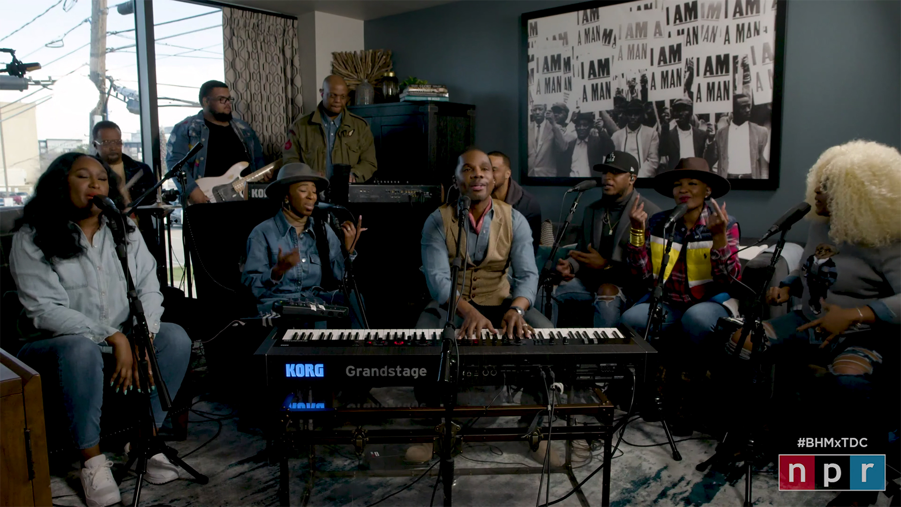Kirk Franklin And His Choir Slayed 'Tiny Desk' Concert To Close Out Black History Month [VIDEO]